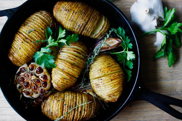 ME - Hasselback Potato